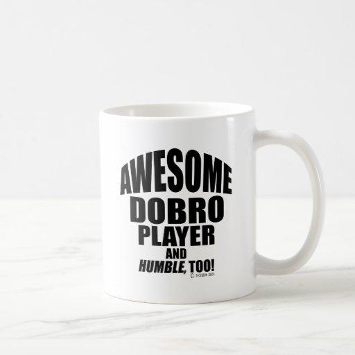 Awesome Dobro Player Classic White Coffee Mug
