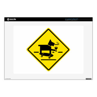 "Awesome Dog Crossing Decals For 15"" Laptops"