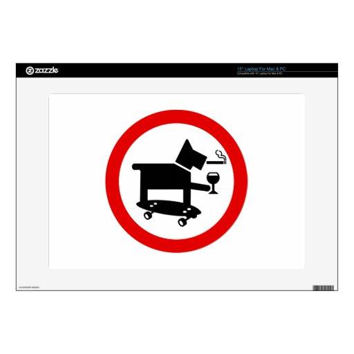 """Awesome Dog 15"""" Laptop Skins"""