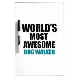 Awesome DOG-WALKER designs Dry-Erase Board