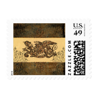 Awesome dragon postage