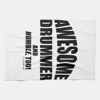 Awesome Drummer Kitchen Towel