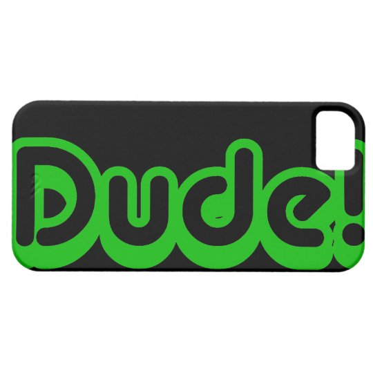 Awesome Dude 80s Retro iPhone SE/5/5s Case