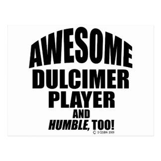 Awesome Dulcimer Player Postcard