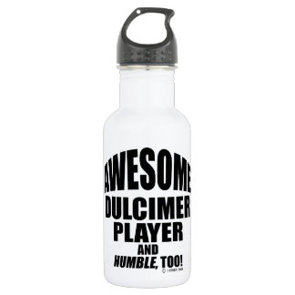 Awesome Dulcimer Player Stainless Steel Water Bottle