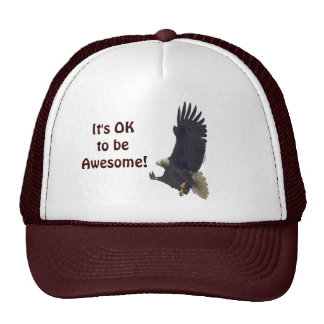 Awesome Eagle Series Trucker Hat