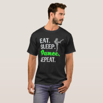 Awesome Eat Sleep Dance Repeat Gift for Girls T-Shirt