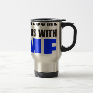 Awesome Ends With ME 15 Oz Stainless Steel Travel Mug