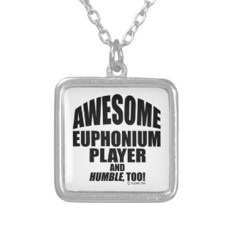 Awesome Euphonium Player Custom Jewelry