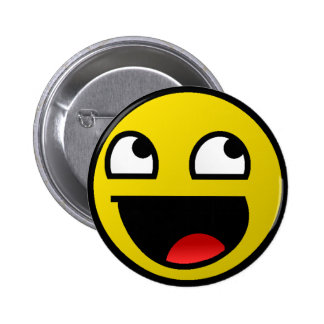 Awesome Face! 2 Inch Round Button