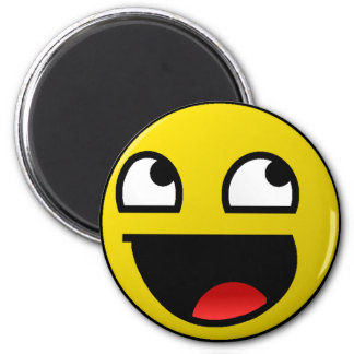 Awesome Face! 2 Inch Round Magnet