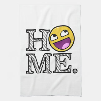 Awesome Face Awesome Home Housewarming Kitchen Towels