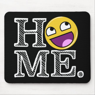 Awesome Face Awesome Home Housewarming Mouse Pad