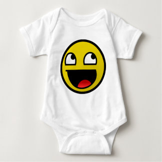 Awesome Face! Baby Bodysuit