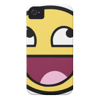 Awesome Face iPhone 4 Case-Mate Case