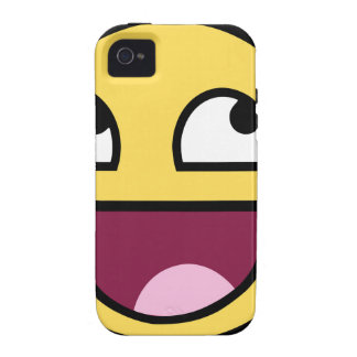 Awesome Face iPhone 4/4S Cases