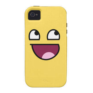Awesome Face Case-Mate Tough™ iPhone 4 Case