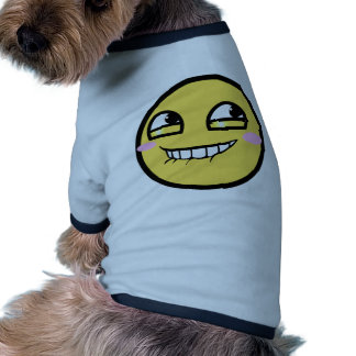 awesome face hurr durr doggie shirt