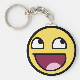 Awesome Face - Im Awesome Keychain