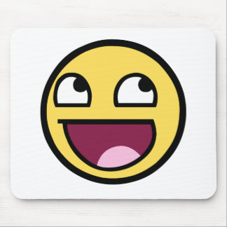 Awesome Face - Im Awesome Mouse Pad