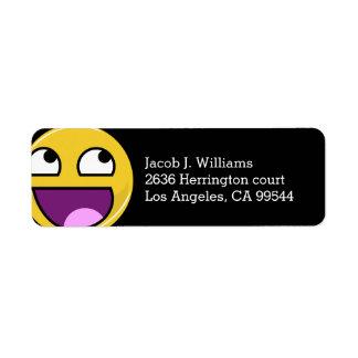 Awesome Face Internet Meme Label