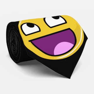 Awesome Face Internet Meme Neck Tie