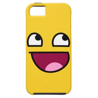 Awesome Face! iPhone 5 Covers
