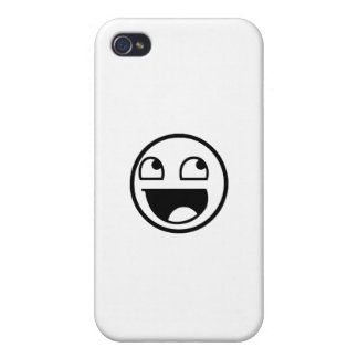 Awesome Face iPhone 4 Covers
