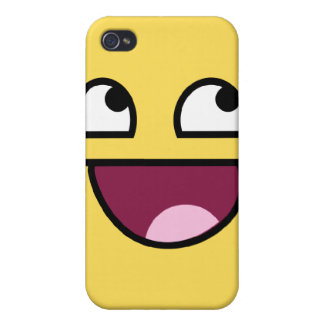 Awesome Face iPhone Case iPhone 4 Cover