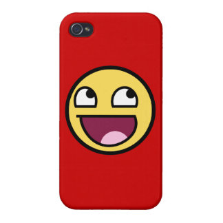 Awesome Face Cover For iPhone 4