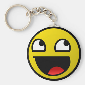 Awesome Face! Keychain