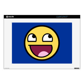 "Awesome Face Laptop For Mac & PC Skin 15"" Laptop Skins"