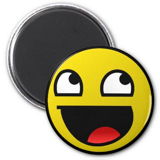 Awesome Face! Fridge Magnets