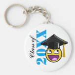 Awesome Face Meme With Graduation Hat Keychain