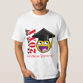 Awesome Face Meme With Graduation Hat T-shirt