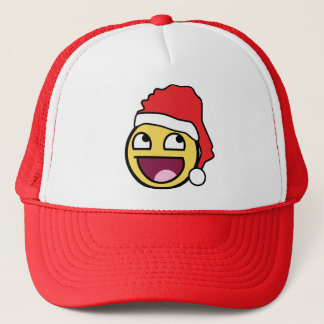 Awesome Face Santa Hat