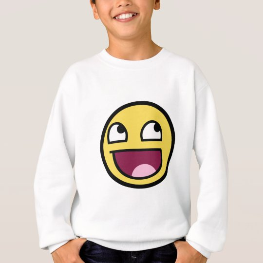 Awesome Face Smiley Sweatshirt