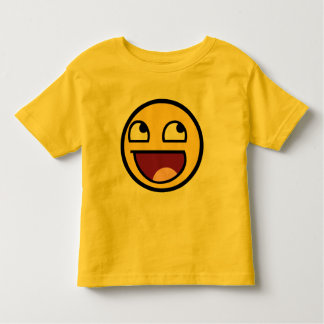 Awesome Face Smiley Toddler T-shirt