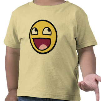 Awesome Face Smiley T-shirt