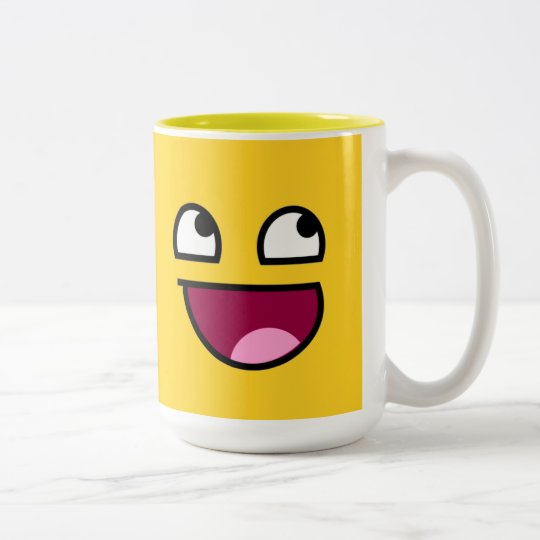 Awesome Face Two-Tone Coffee Mug
