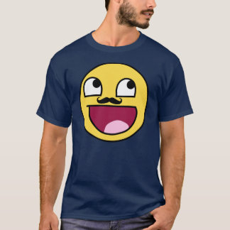 AWESOME FACE WITH MUSTACHE T-Shirt