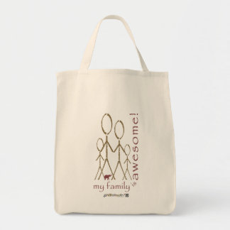 """""""Awesome Family! Tote Bag"""
