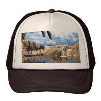 Awesome fantasy landscape trucker hat