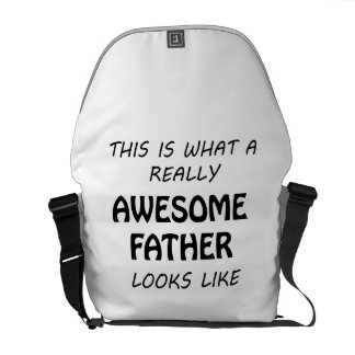 Awesome Father Messenger Bag