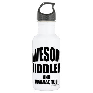 Awesome Fiddler Stainless Steel Water Bottle