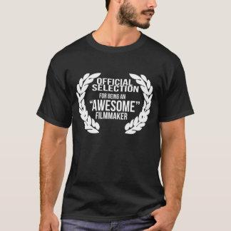 Awesome Filmmaker T Shirt