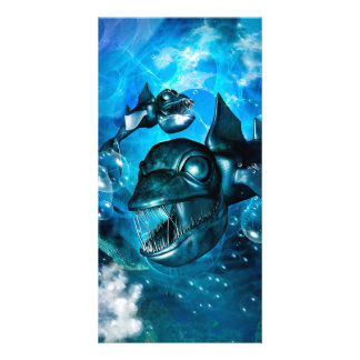 Awesome fish card