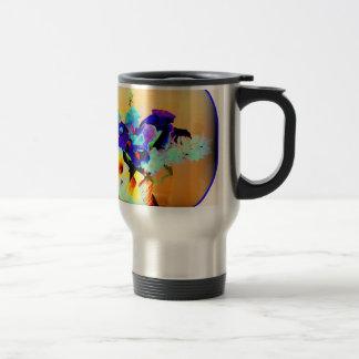 Awesome Flower Arrangement Photo Image Design Travel Mug