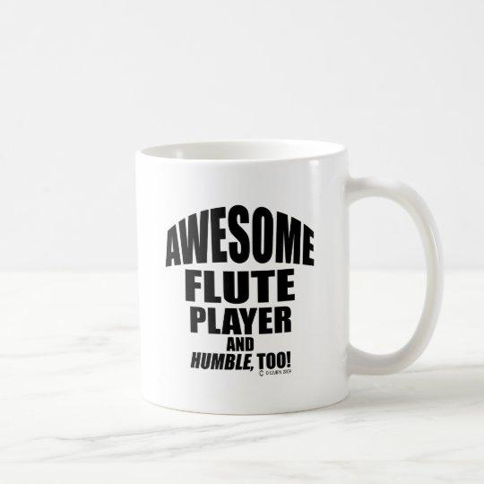 Awesome Flute Player Coffee Mug