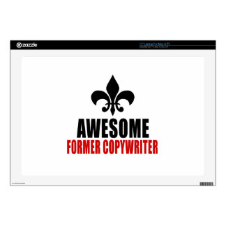 AWESOME FORMER COPYWRITER LAPTOP DECAL